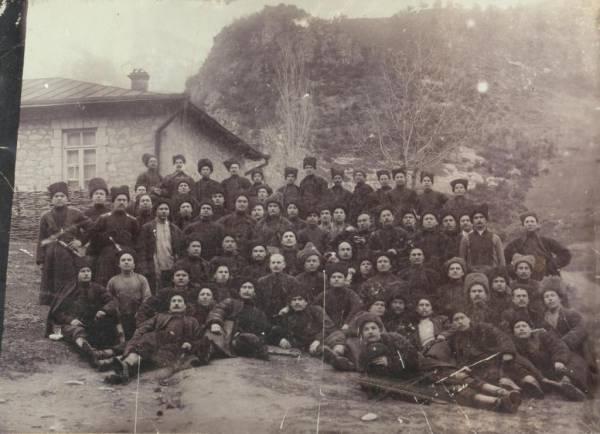 Казаки. Станица Убинская. Фото нач. XX века.