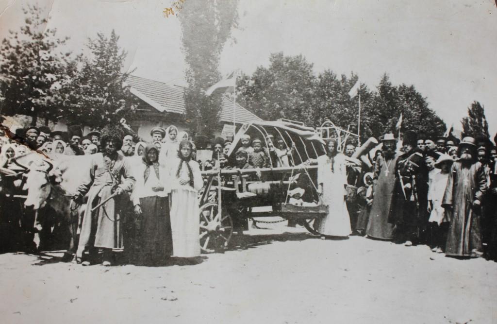 станица Дербентская. фото 1913 г. празднование 50-летия станицы
