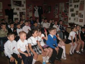 Северские школьники в музее