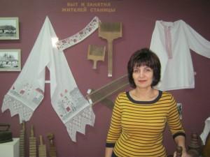 Директор Северского музея Н.П. Решетова