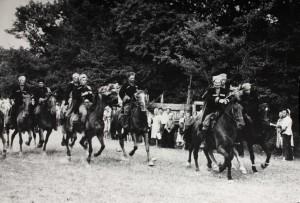 Празднование 25-й годовщины 4-го Кубанского гвардейского кавалерйского корпуса в ст. Северской. 1967 год.