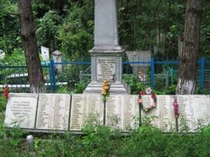 Захоронение в п. Афипском (общественное кладбище)