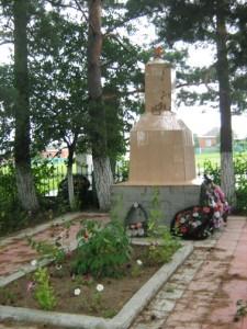 Захоронение в ст. Калужской на кладбище