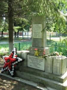 Захоронение воинов-освободителей в ст. Убинской