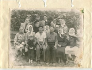 Семья Коплик-Бурьян. Фото из архива семьи