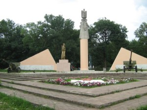 Захоронение в ст. Новодмитриевской