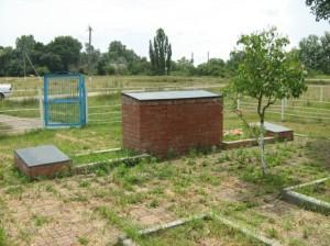 Захоронение на хуторе Оазис Северского района