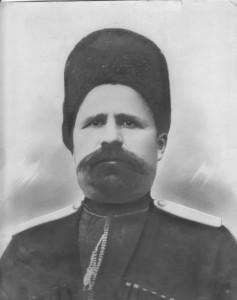 Атаман Антон Крысин. Фотография. Нач. XX века.