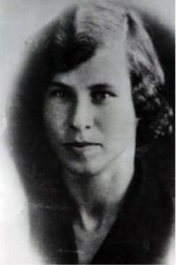 В. Тылькина. Фотография. 1930-е гг